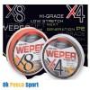trecciato COLMIC WEPER X8 150 yd