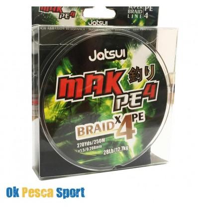 trecciato Jatsui Mak 4 PE