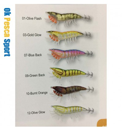 artificiale Savage gear Hybrid Shrimp 7,5 12 gr egi Jig